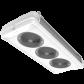 Evaporateurs double flux CO2 60 bar positifs - série NTA--L